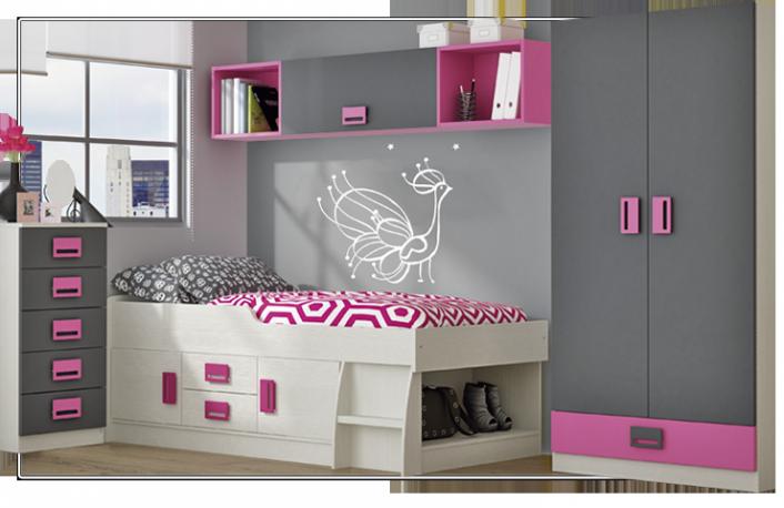 Ideas para decorar tu buhardilla - Ideas para decorar habitacion juvenil femenina ...