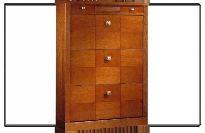 El zapatero pieza clave en la decoraci n del hogar for Zapateros de madera de roble