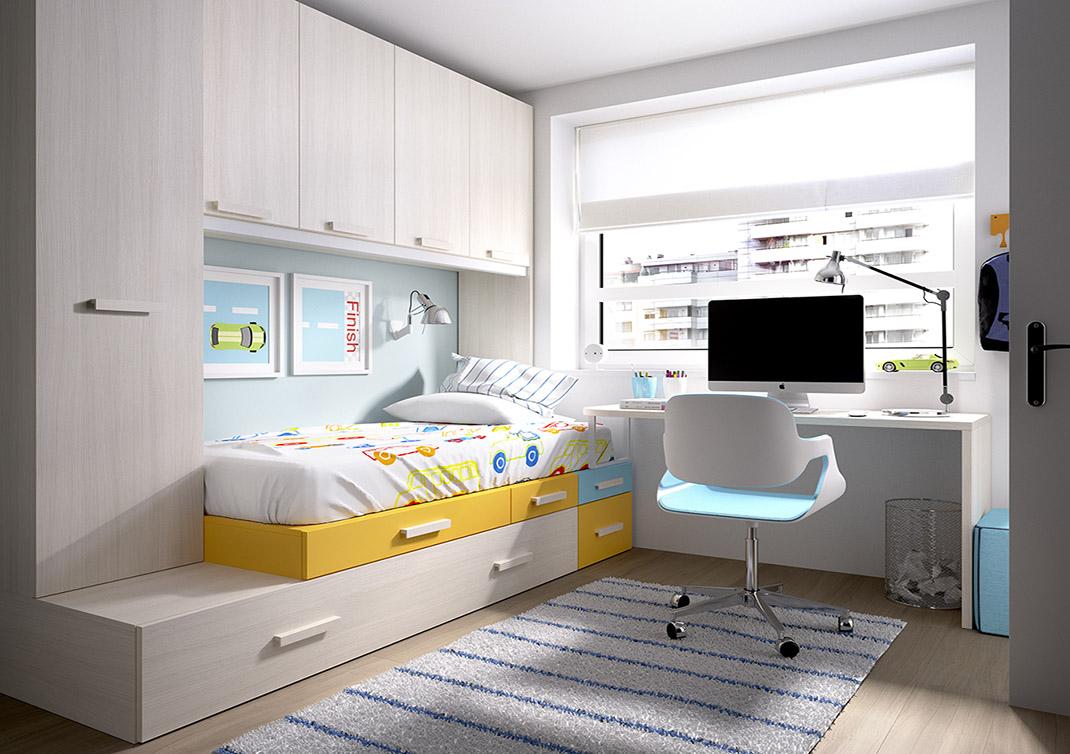 Colores para las habitaciones juveniles femeninas - Habitaciones juveniles ninas ...