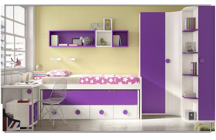 Colores para las habitaciones juveniles femeninas - Colores para dormitorio juvenil ...