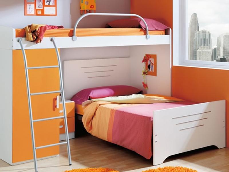 Decorar dormitorio infantil compartido for Decoracion habitacion infantil pequena