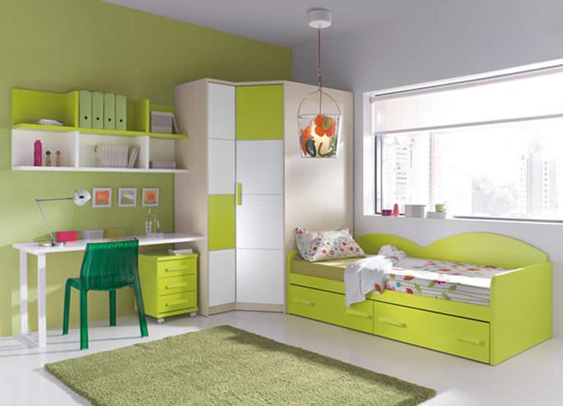 Colores para las habitaciones juveniles femeninas for Decoracion habitaciones juveniles nina
