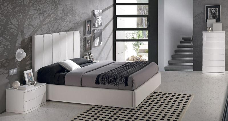 Dormitorios en color blancoblog de decoraci n de muebles for Dormitorios decorados en gris