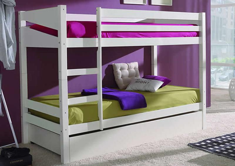 C mo decorar habitaciones compartidas unisex - Habitaciones pequenas ninos ...