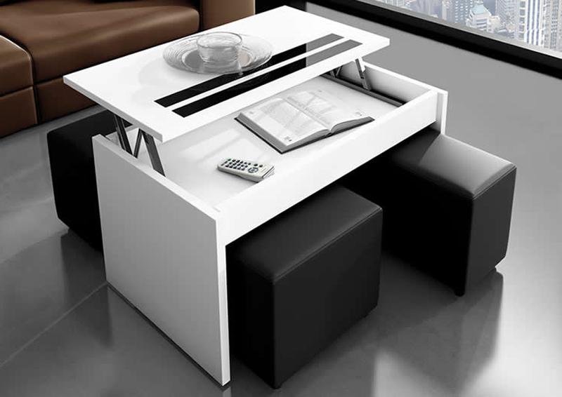 Los mejores muebles para espacios reducidos - Muebles practicos para espacios pequenos ...