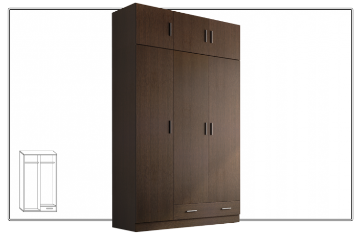 Consejos para escoger el armario del dormitorio for Armario puertas correderas wengue