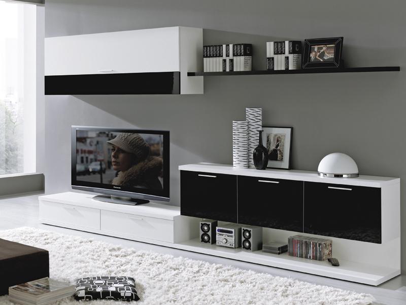 Consejos para decorar un loft - Decoracion paredes salon moderno ...