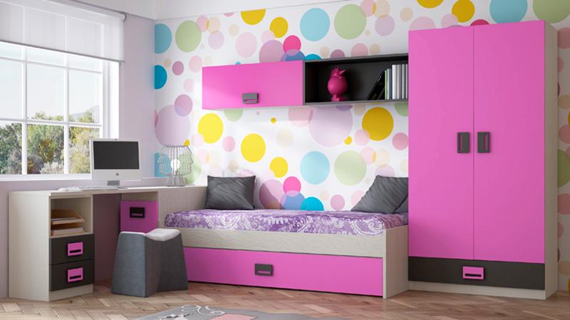Dormitorios Juveniles Modernos Para Mujeres. Simple Lagrama With ...