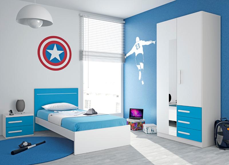 Decoraci n de la habitaci n juvenil para chicos - Decoracion habitacion juvenil masculina ...