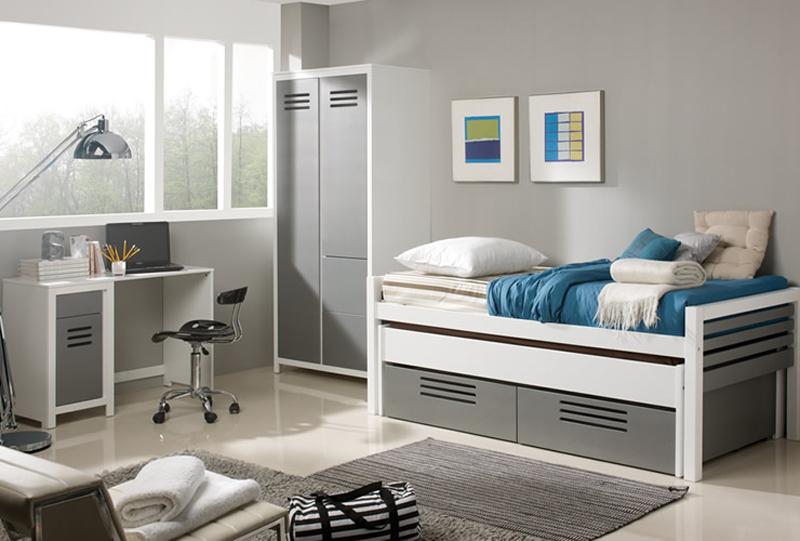 Dormitorio juvenil para chicos completo
