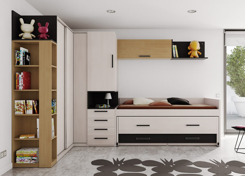 Dormitorio juvenil para chicos
