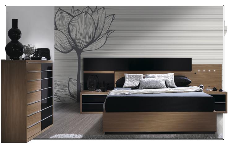 Consejos para decorar con muebles oscuros for Armarios dormitorio matrimonio baratos