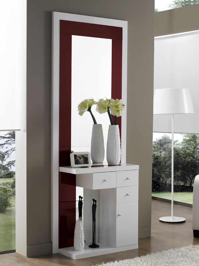 Decoracion mueble sofa muebles para un recibidor - Muebles recibidor ikea ...