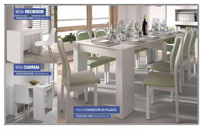 Mesas de comedor consola o extensible? |