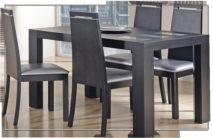 Decorar comedores peque os for Mesas y sillas para comedor pequeno