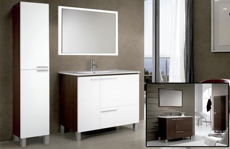 Trucos para decorar con muebles blancos - Espejos de banos modernos ...