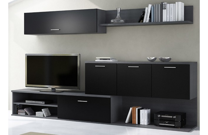 Consejos para decorar con muebles negrosblog de decoraci n for Decoracion de muebles de salon
