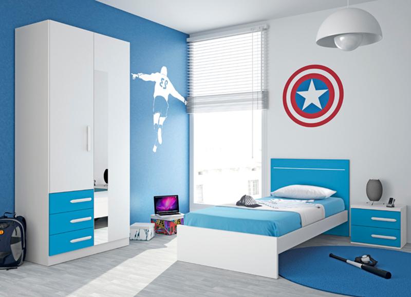 Colores para una habitacion juvenil elegant pintar - Pintar habitacion juvenil ...