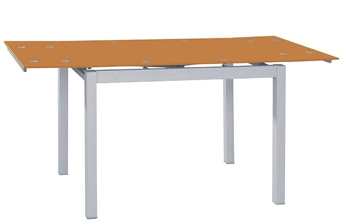 Mesas de cristal para cocina mesa de comedor negra mesa for Table extensible glasgow