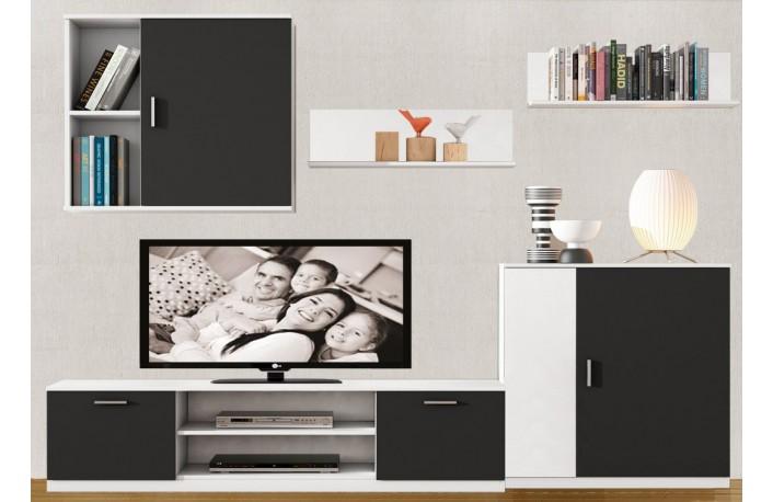 Un nuevo concepto en muebles de sal n decoraci n como - Como decorar un mueble de salon ...