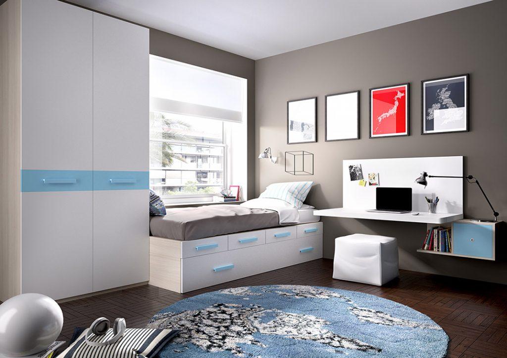 Las mejores habitaciones para estudiarblog de decoraci n for Los mejores dormitorios juveniles