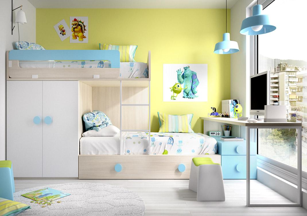 Tipos de camas infantilesblog de decoraci n de muebles boom - Muebles boom escritorios ...