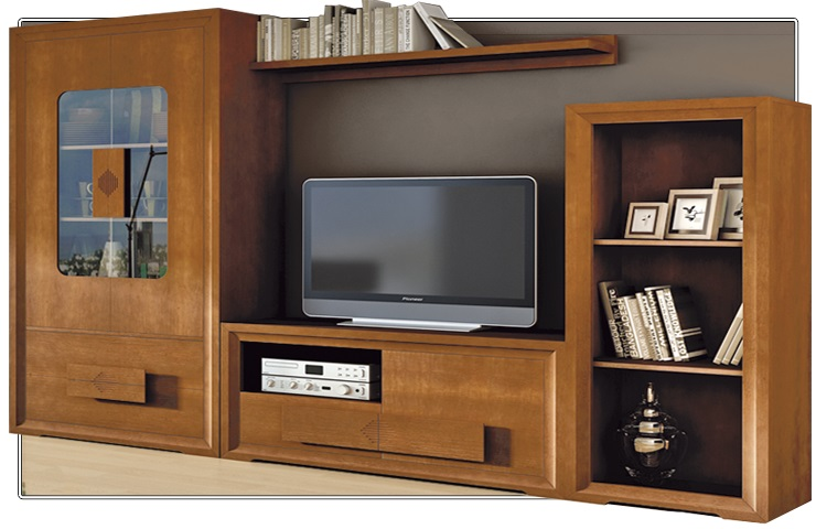 Salones de madera macizablog de decoraci n de muebles boom - Muebles boom salones ...