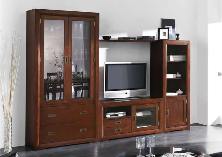 Salones de madera macizablog de decoraci n de muebles boom for El boom del mueble
