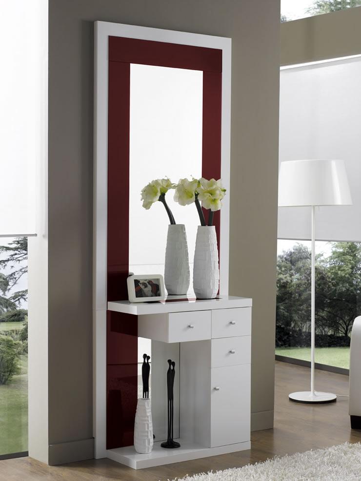 Muebles para entradas y recibidores excellent mueble entrada y recibidores with muebles para - Merkamueble villalba ...