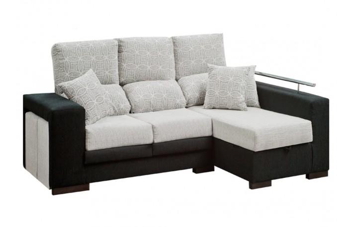 C mo combinar los muebles negros blog de decoraci n for Sofas reclinables economicos