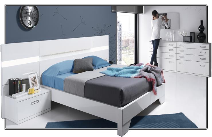 Los mejores colores para pintar dormitorios - Dormitorios en color blanco ...