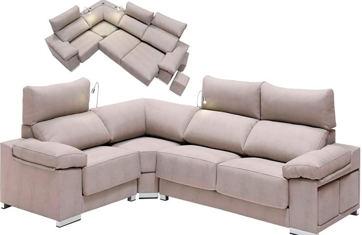 Decorar un espacio irregularblog de decoraci n de muebles for Sofa esquinero grande