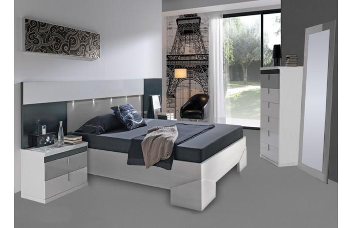 C mo decorar un dormitorio con poca luz natural - Iluminacion habitacion matrimonio ...