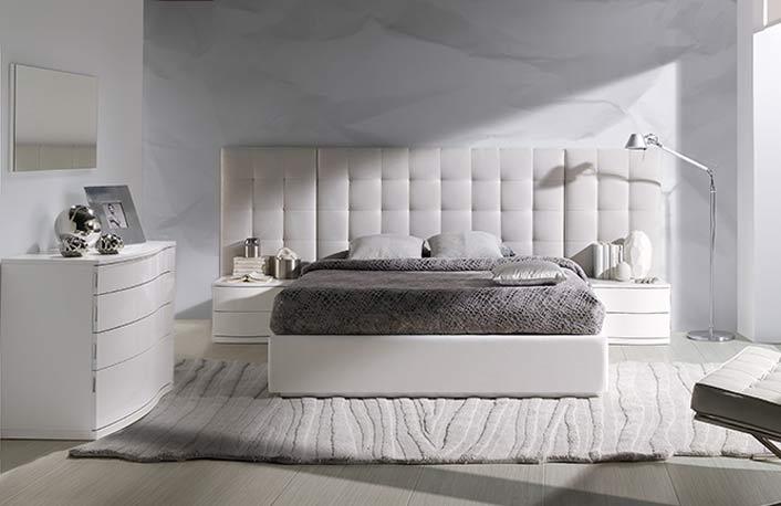 Los cabeceros de cama en la decoraci n - Cabecero de cama acolchado ...
