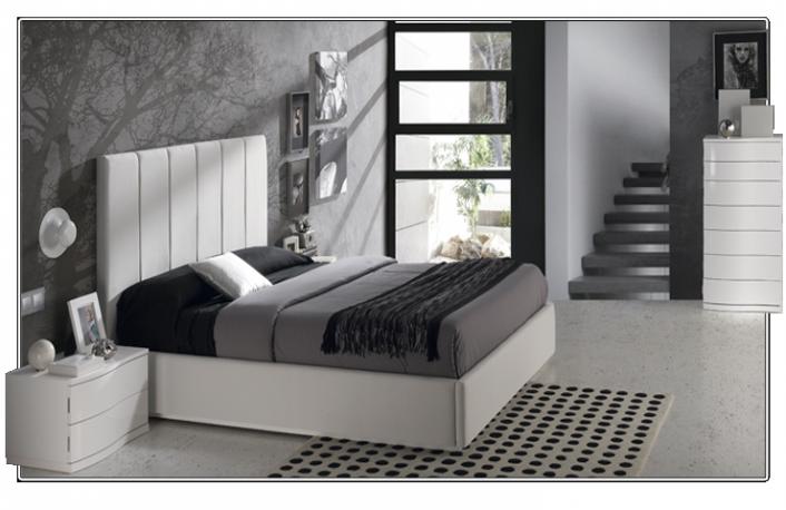 Decoración de dormitorios en blanco y negro |