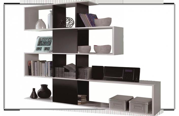 Estanterias y librerias en la decoracion - Estanterias para separar ambientes ...
