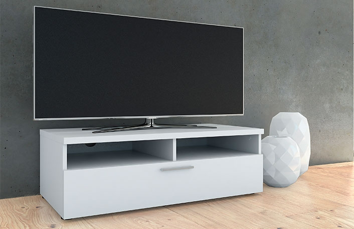 5 claves para decorar la sala de estar for Mueble auxiliar television