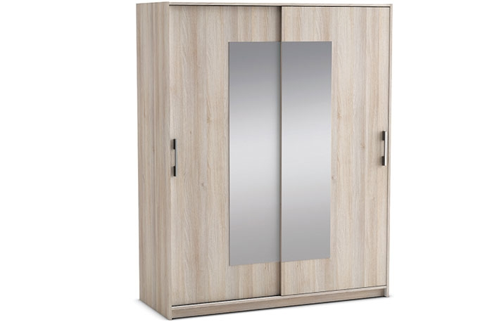 Ventajas de comprar muebles de melamina for Armario puertas correderas 100 cm