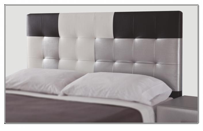 Cabezal cama acolchado cabecero tapizado ld noa c with - Cabeceros acolchados cama ...