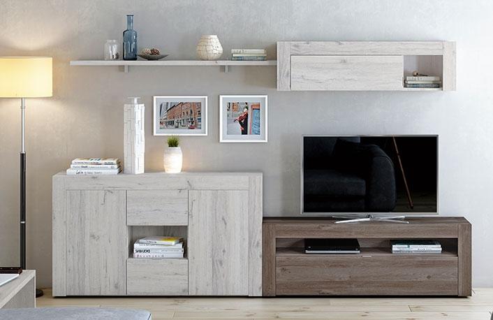 Muebles De Salon Estilo Moderno Con Aparador