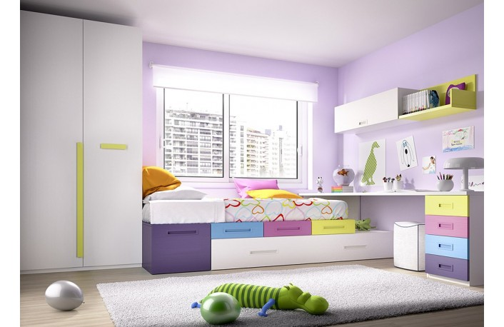 Colores para las habitaciones juveniles femeninas - Colores de pared para habitacion ...