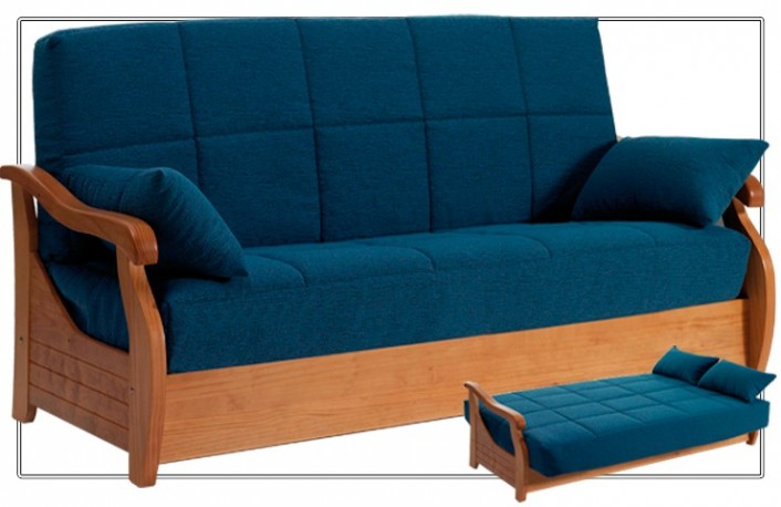 Los mejores sof s cama para estudios y pisos peque os for Sofas cama 2 plazas pequenos