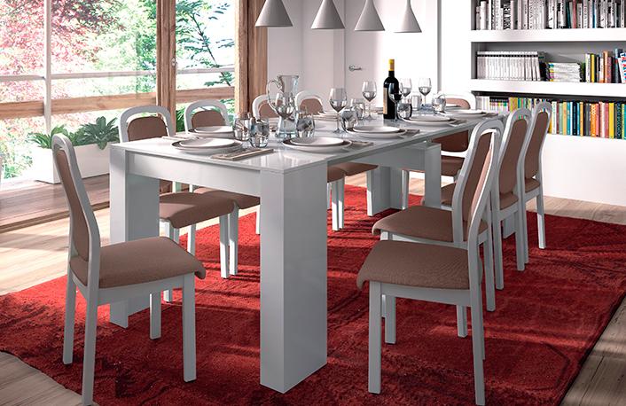 Es buena idea escoger una mesa de comedor consola? |
