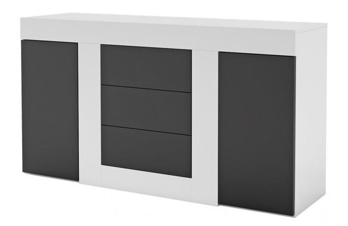 decorar comedores en blanco y negro ForMueble Comedor Minimalista