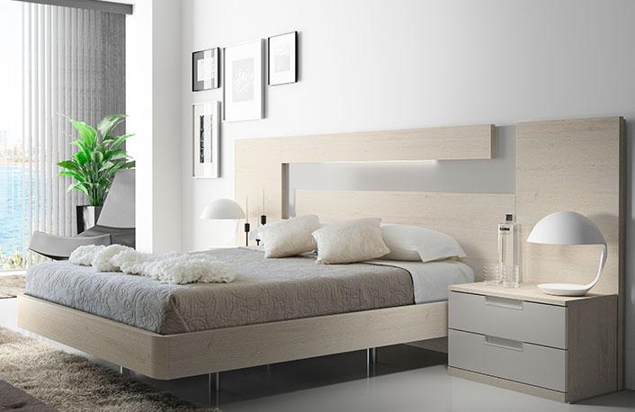 Los colores neutros para dormitorios de matrimonio for Muebles de dormitorio matrimonial modernos