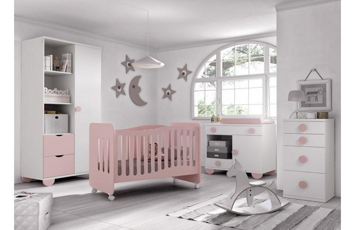 Decorar habitaciones infantiles y juveniles en rosa for Como decorar un dormitorio de bebe