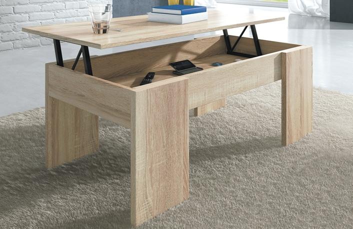 Los mejores muebles para espacios reducidos - Mesas de centro para espacios pequenos ...