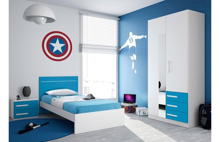 Decorar habitaciones infantiles y juveniles grandesblog de decoraci n de muebles boom - Cama individual juvenil ...