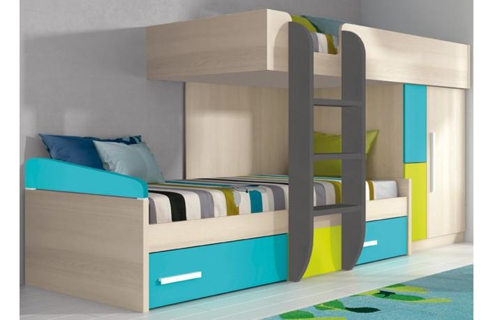 El top 5 en camas tipo tren - Camas tren infantiles ...