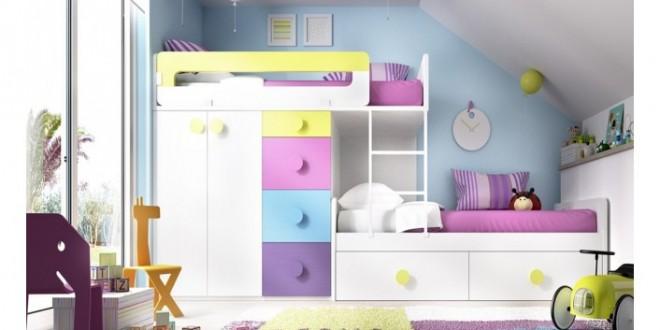 Las mejores camas para habitaciones juveniles peque as - Camas nido pequenas ...
